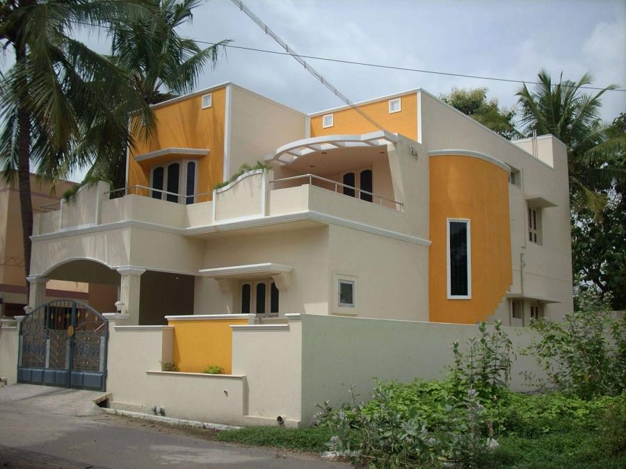 New house photos in tamilnadu for Tamil nadu house model photo gallery