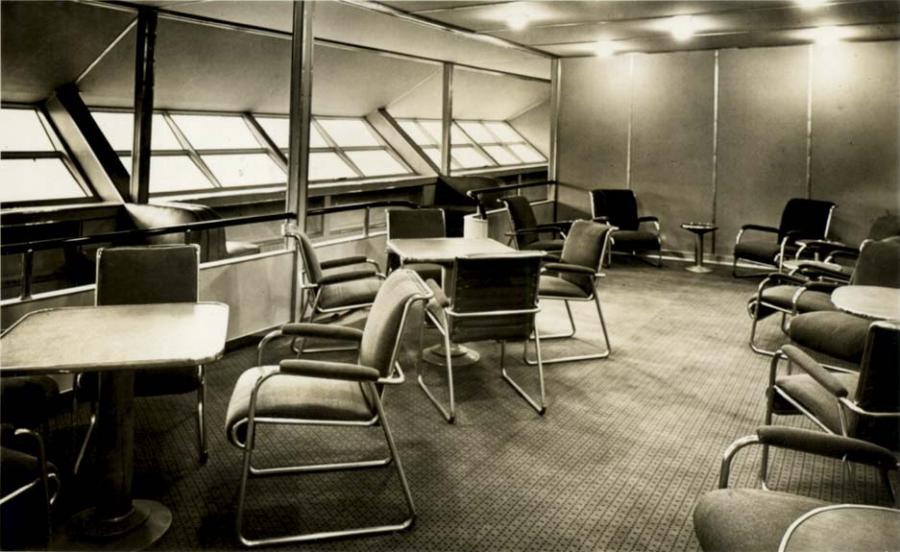 Airship Interior Photos