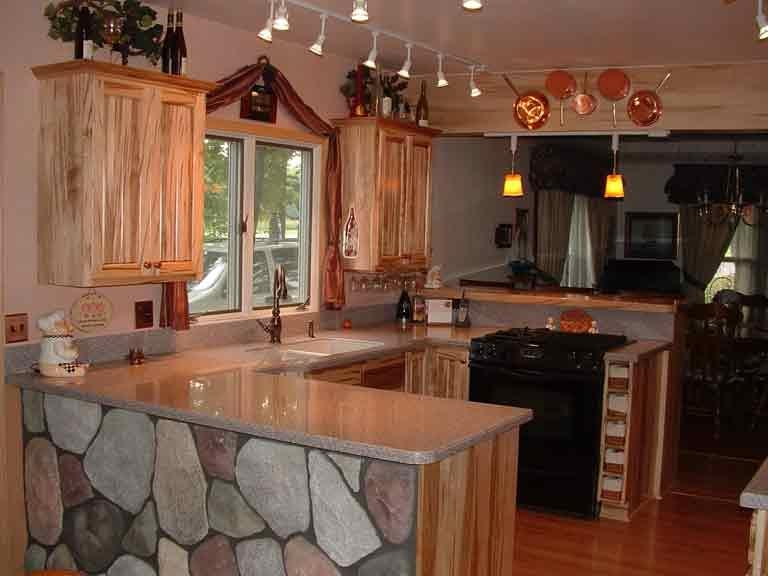 Maple kitchen photo for Kitchen cabinets 01089