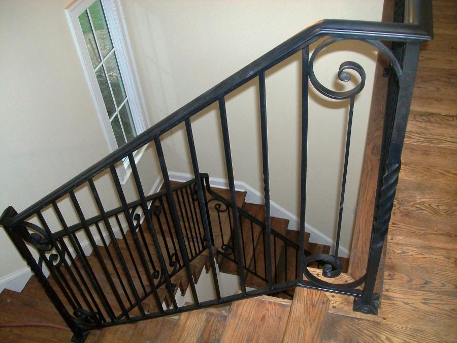 Stair Railings Iron Photos