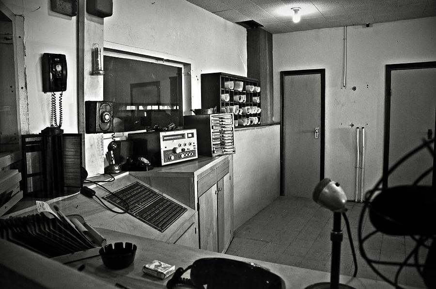 Control Room In Alcatraz Prison Photograph