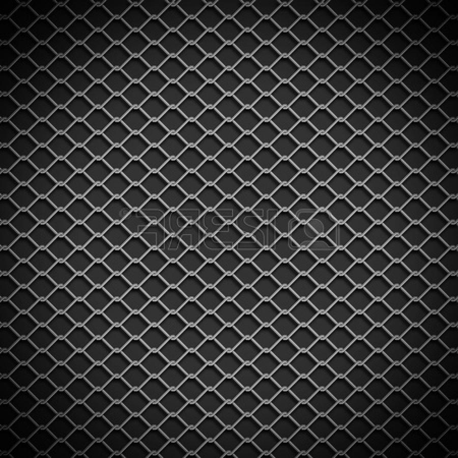 Stock Photo - metal chain link fence background