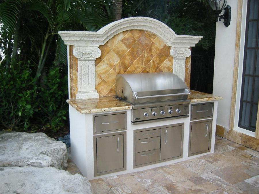 florida outdoor kitchen photos