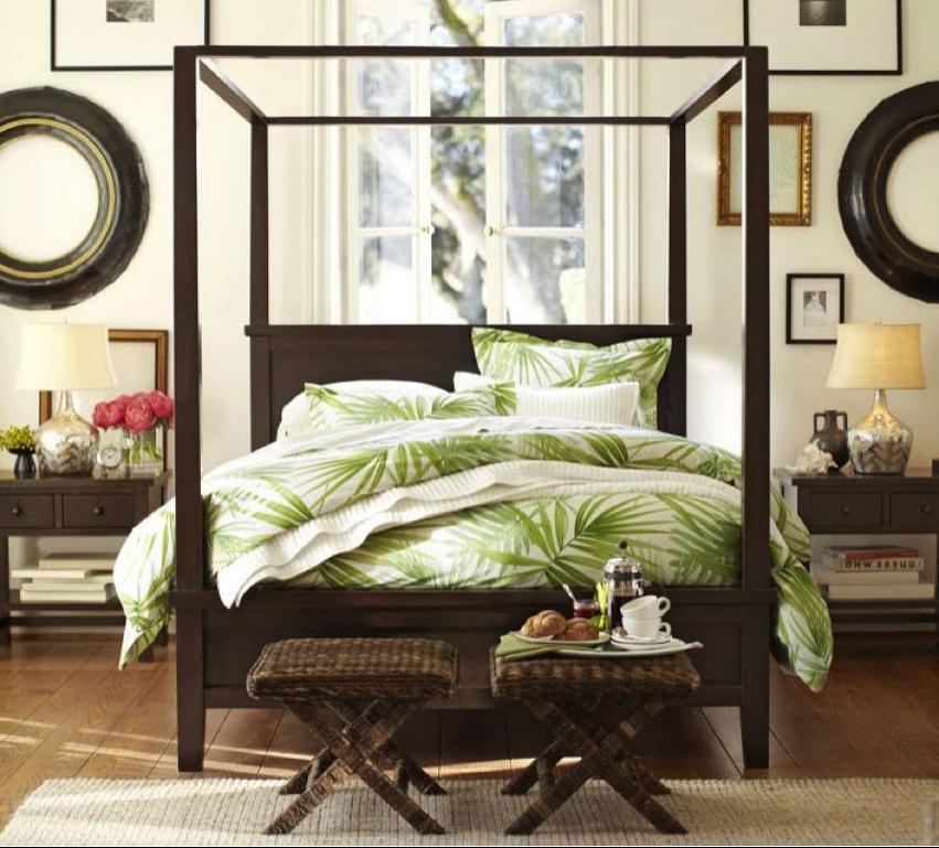 Tropical Bedroom Decorating Ideas Photos