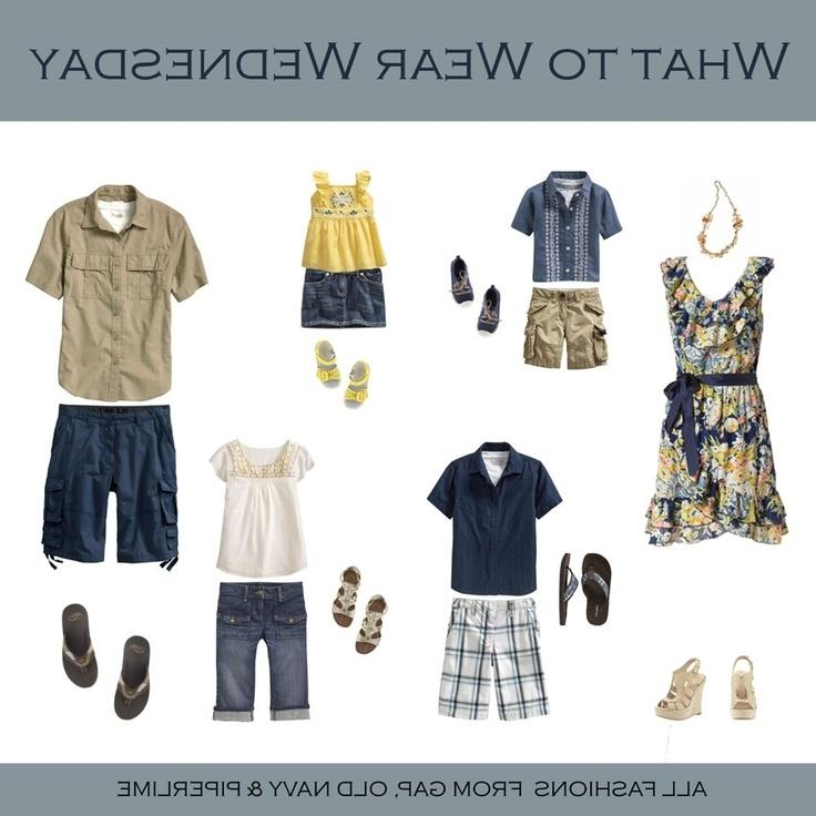 Family Photo Clothes Great Spring Summer Photoshoot Ideas