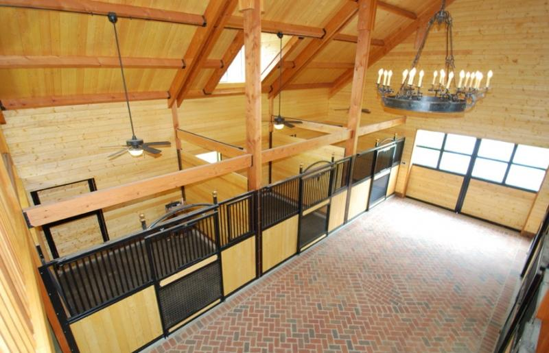 Vintage Horse Barn Photos Interior Stalls