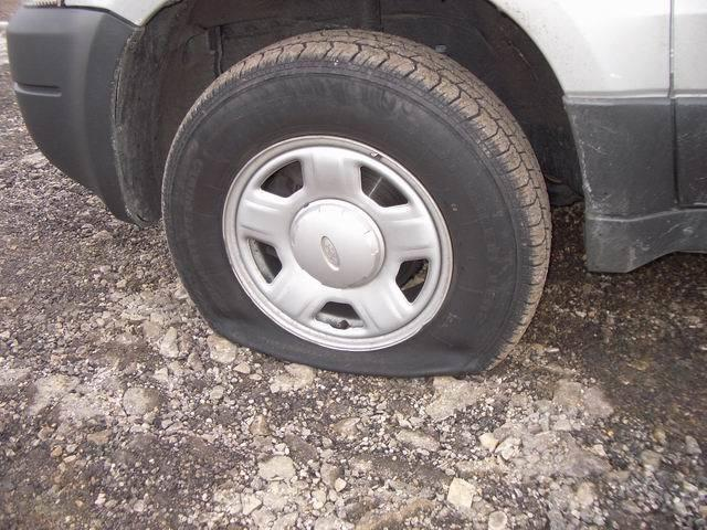 You would stop movinu0026#39; like a flat tire