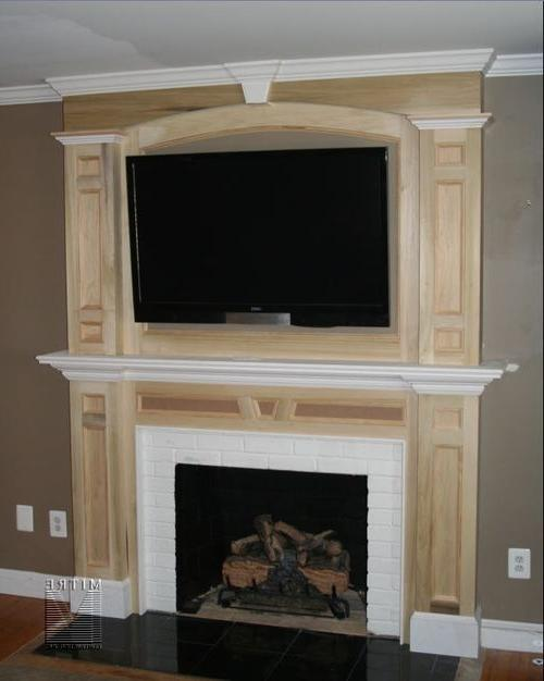 Arched Fireplace Mantle Photos