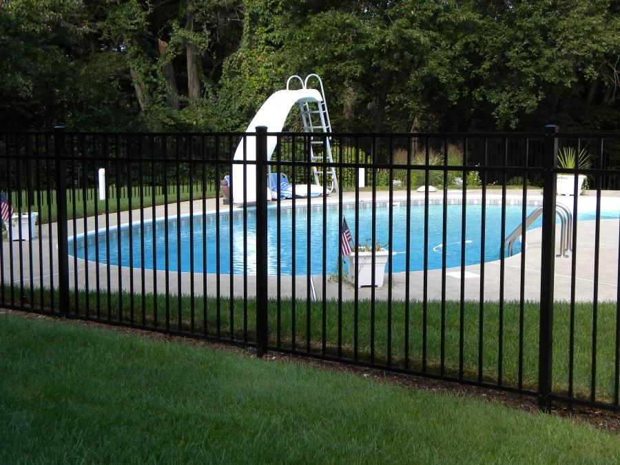 Iron Pool Fence Photos