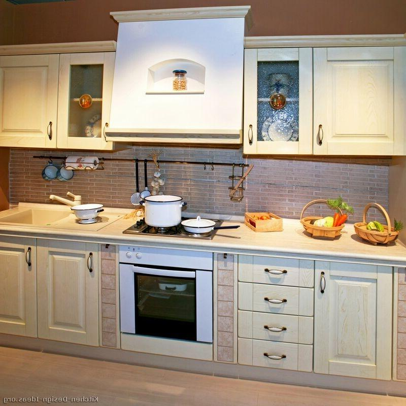Pictures of Kitchens  Traditional  Whitewashed Cabinets ( source
