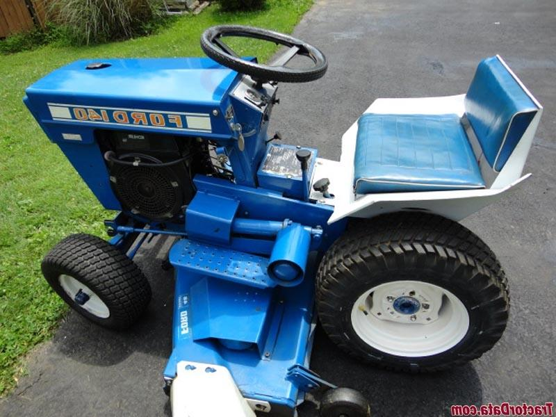 Ford Garden Tractors With Pto : Ford garden tractor photos