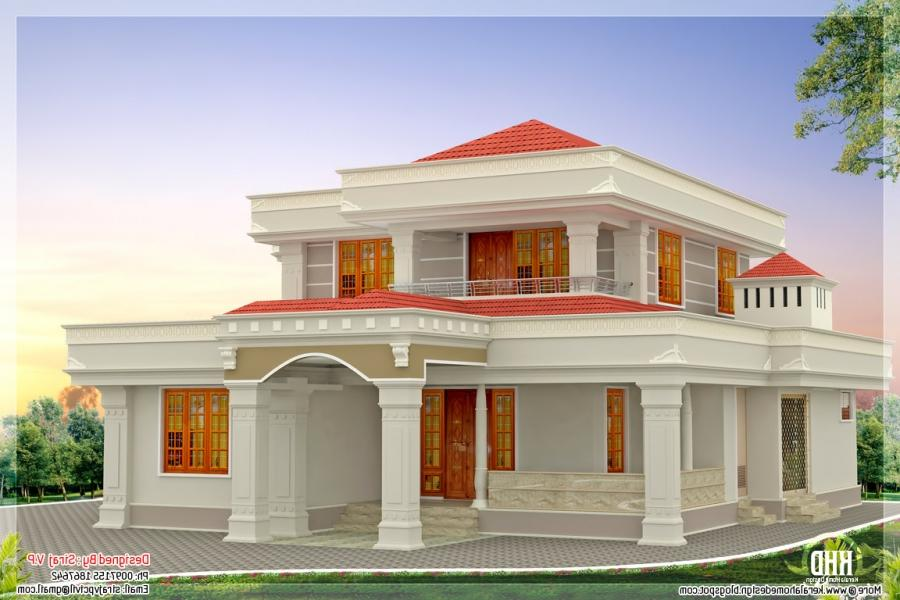 South Indian House Plans With Photos Exterior