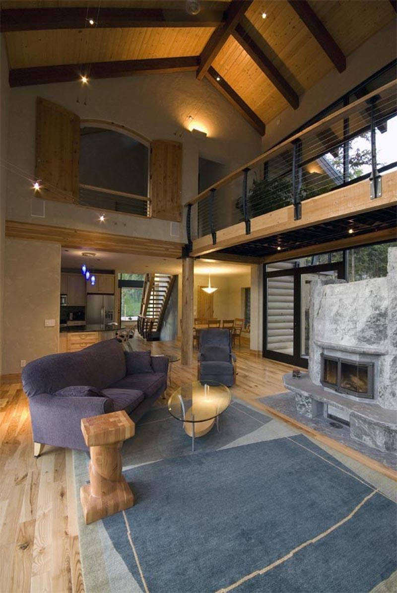 ... Interior Of The Rustic House With Classic Theme. Part of ... source