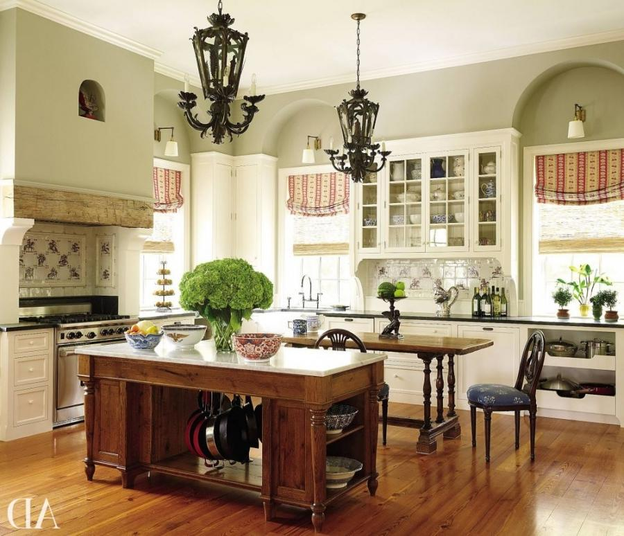 Traditional Kitchen by Alison Martin Interiors Ltd. and Jean...
