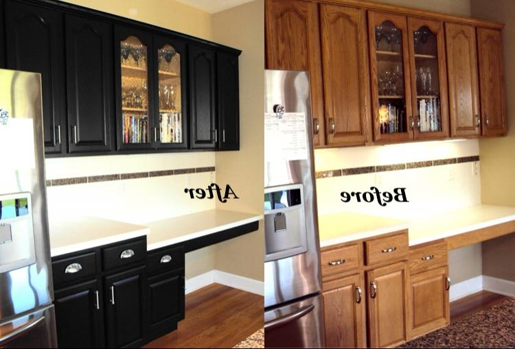 photos of before and after refinished kitchen cabinets cabinetry refinishing starlily design studio
