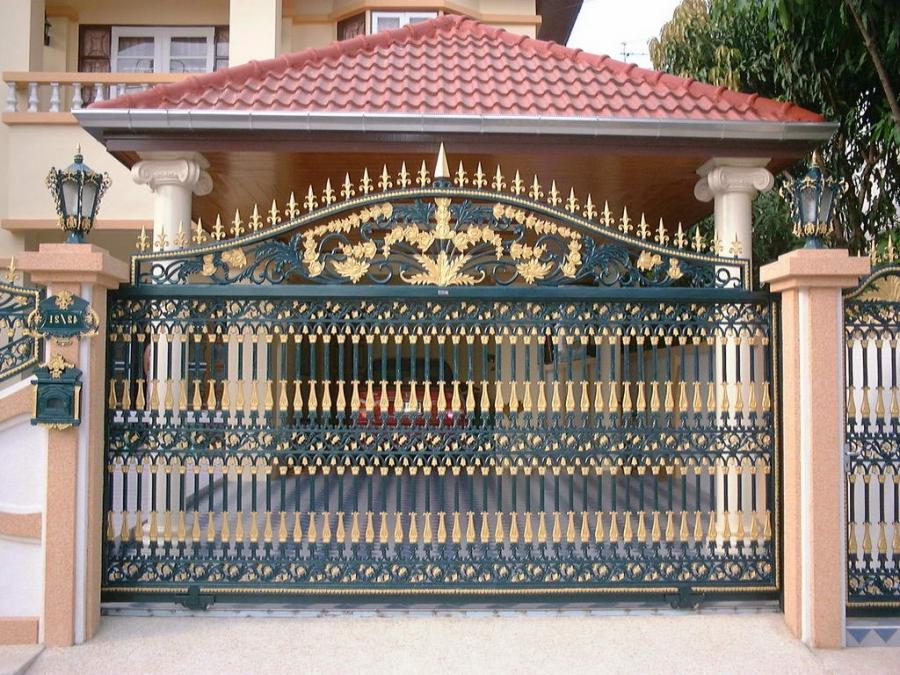 gate grill design photo