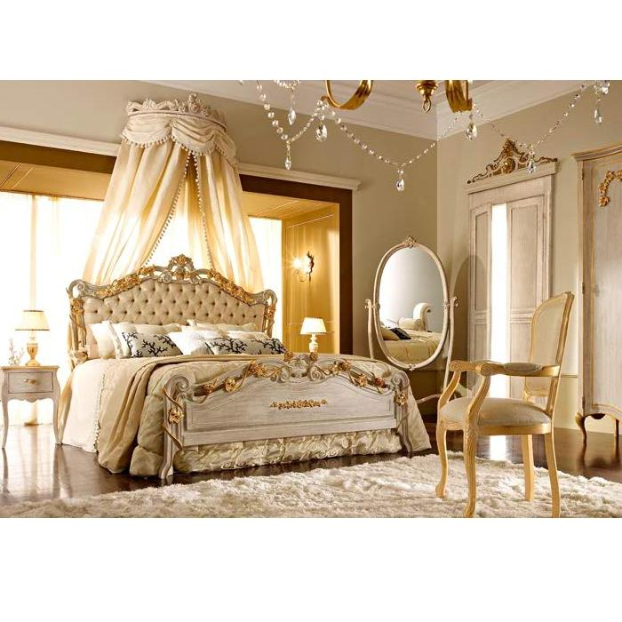 The whole range of bedroom furniture is available in French...