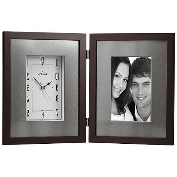 Desk Digital Photo Frame Clock