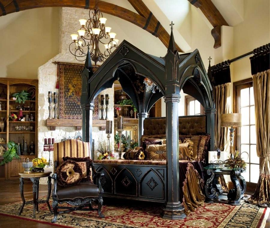 gothic canopy bed fashion forward custom made canopy bed source