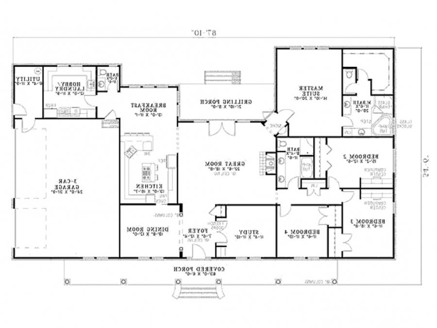 Dream home floor plans photos