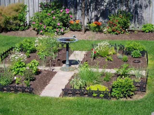 Photos of french vegetable gardens