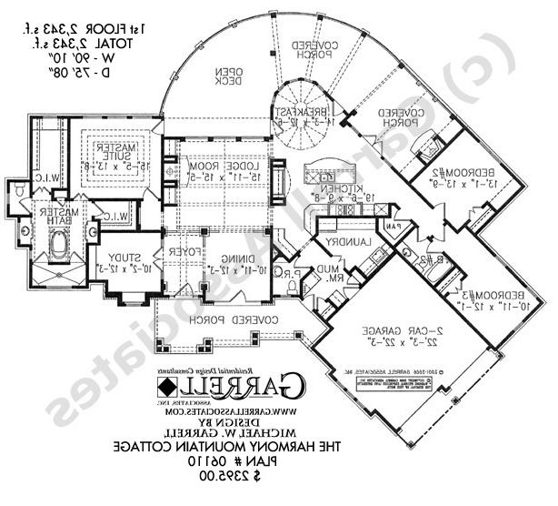 Lakefront house plans with photos Classic cottage house plans