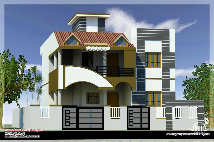 Small house front elevation photos in india for Small house elevation in india