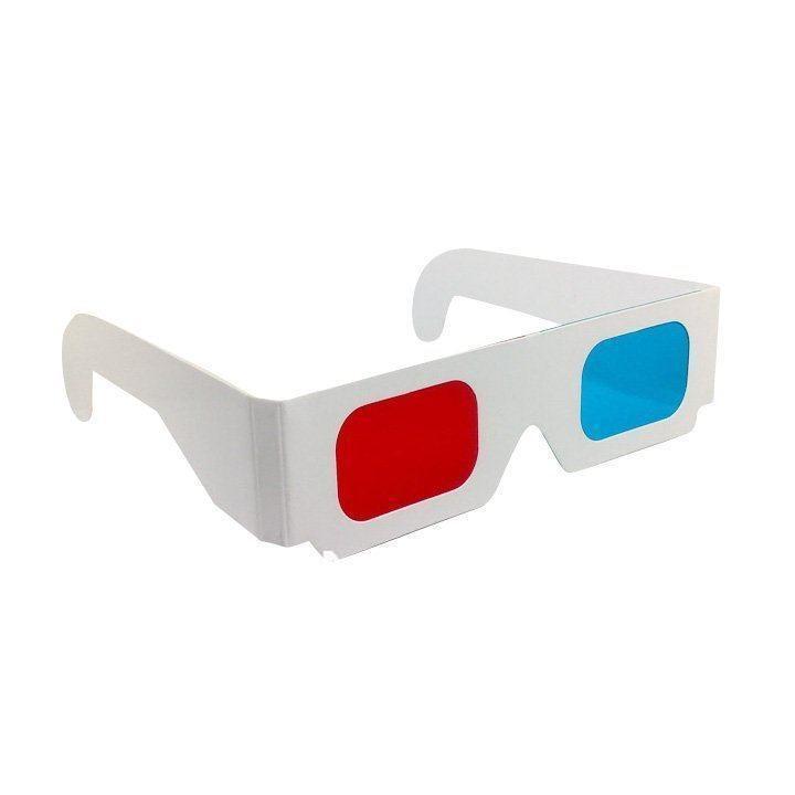 Как сделать самому 3d очки анаглифные