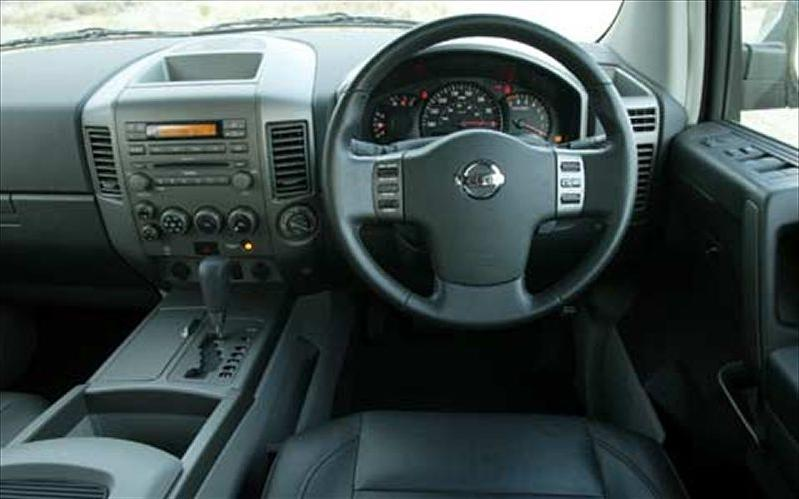 2008 Nissan Armada Interior Photos