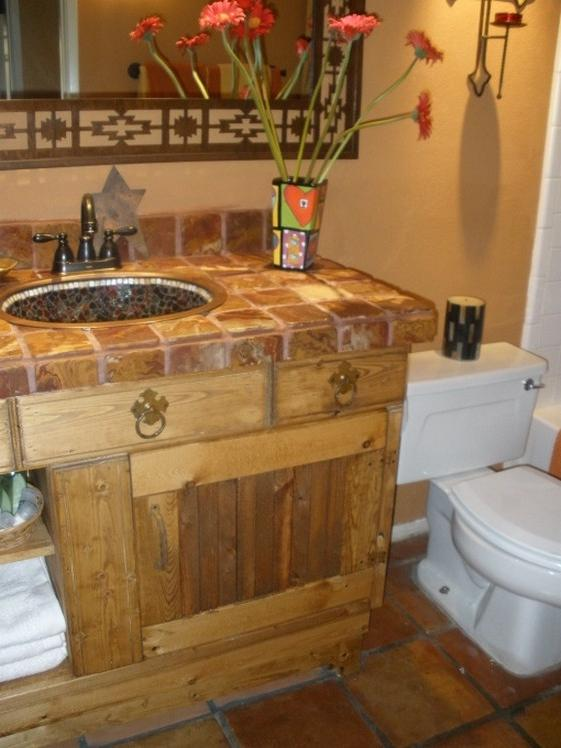southwestern bathroom decor cheap rustic western bathroom source