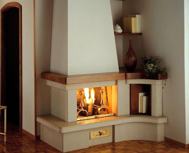 coutntry style design ideas for corner fireplaces corner source