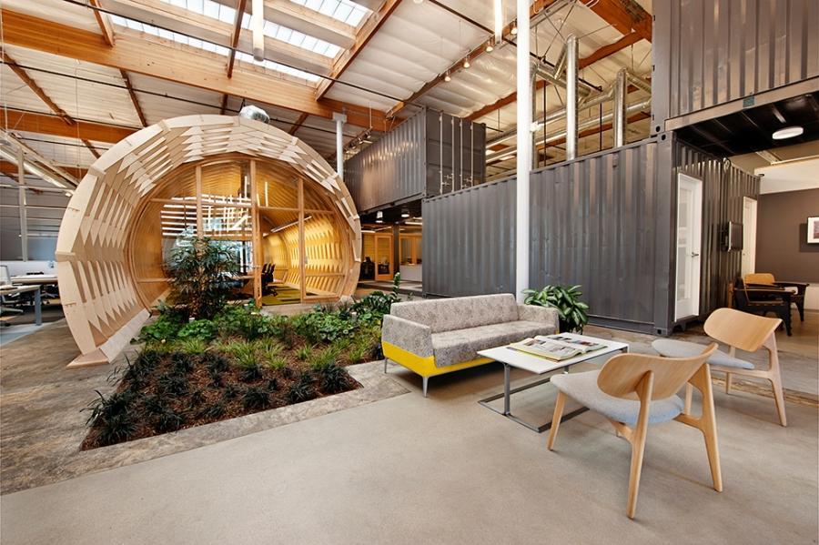 Idees decoration interieur maison id e - Peinture effet beton tollens ...