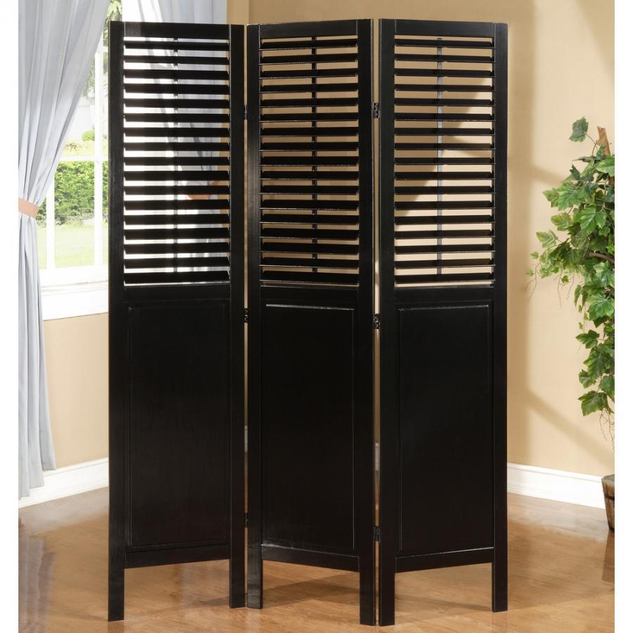 homefurnishings inc trinity room divider black canada source