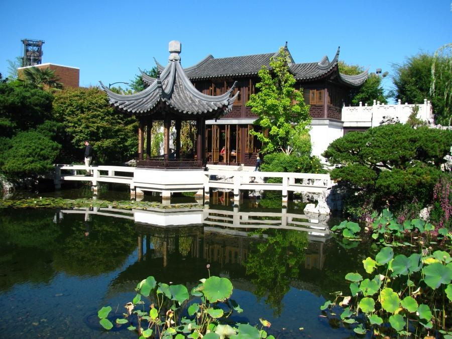 Chinese Gardens Portland Oregon Photos