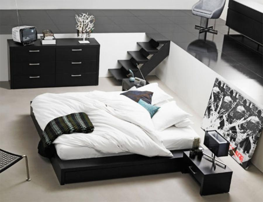 Awesome Black and White Bedrooms Ideas