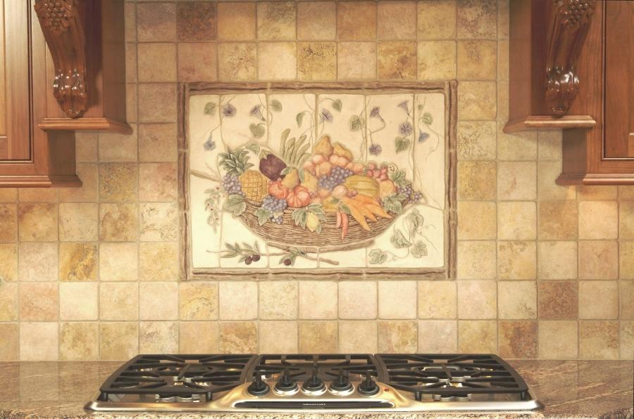 Ceramic photo tile murals for Clay tile mural