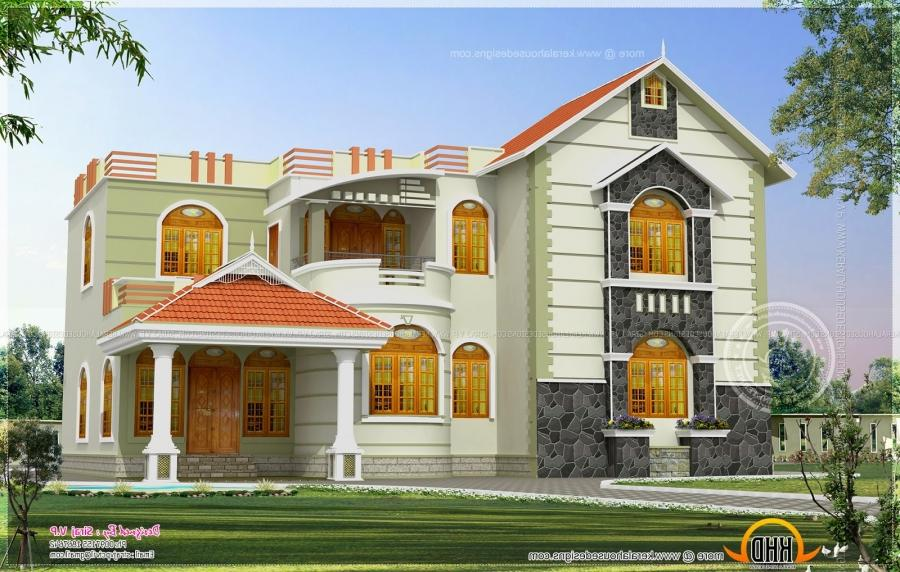 South indian duplex house exterior colors joy studio for Duplex house exterior design pictures in india