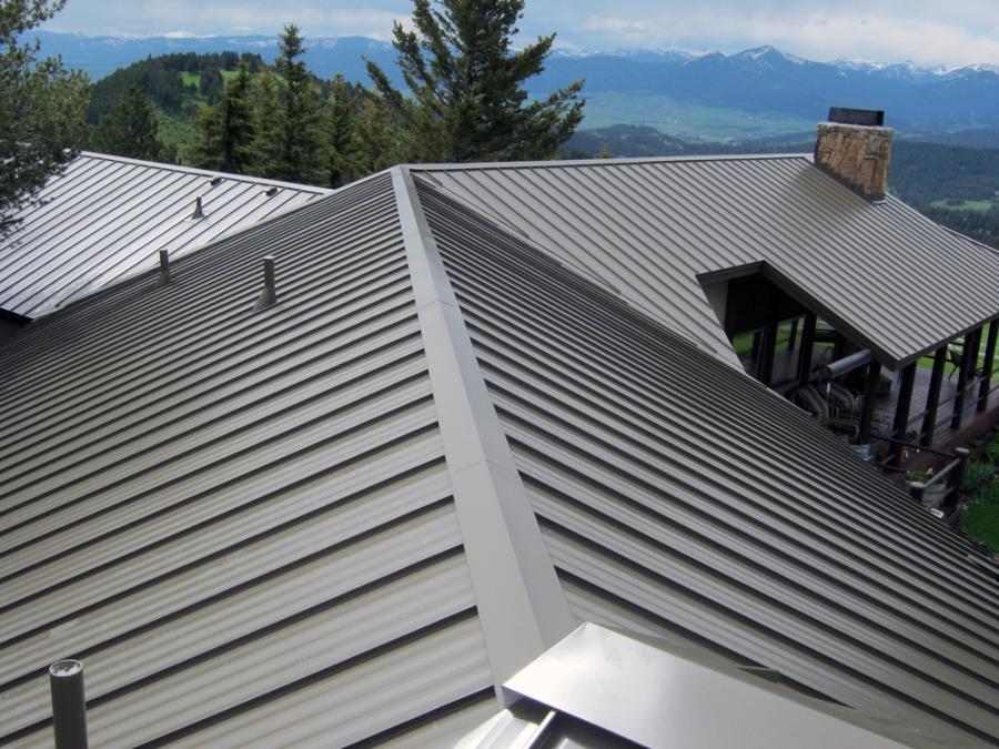 Flat Metal Roof Photos
