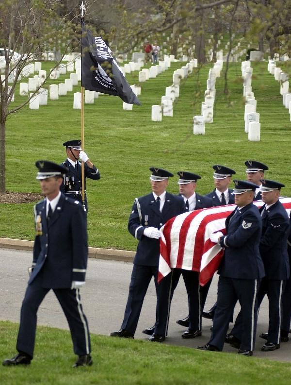 Casket Photo Sparks Air Force Investigation