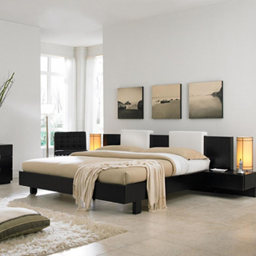 Creative Well Designed Contemporary Bedroom And Calm Color