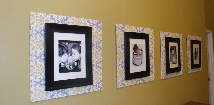... beautiful ideas of hanging family photo with awesome frame...