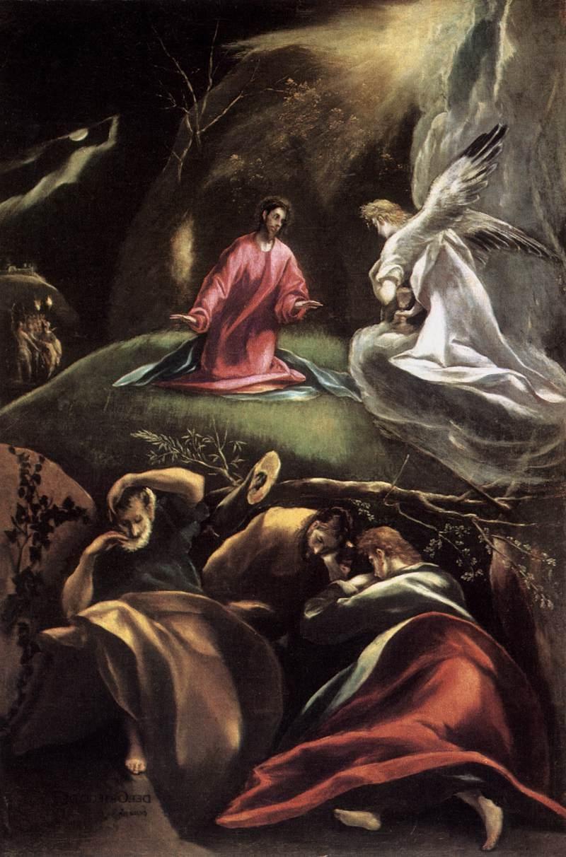 Jesus In The Garden Of Olives Jesús En El Huerto De Los
