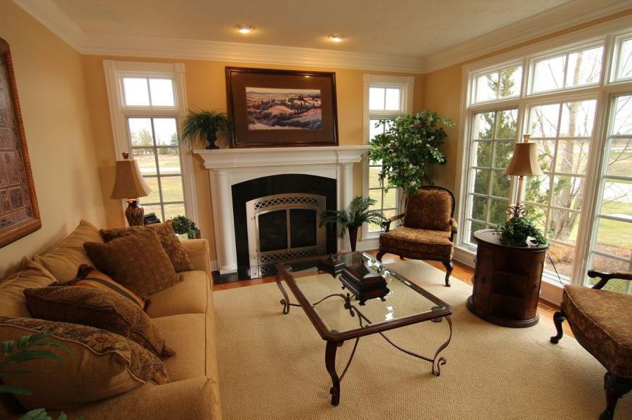 Photos Of Living Rooms With Fireplaces