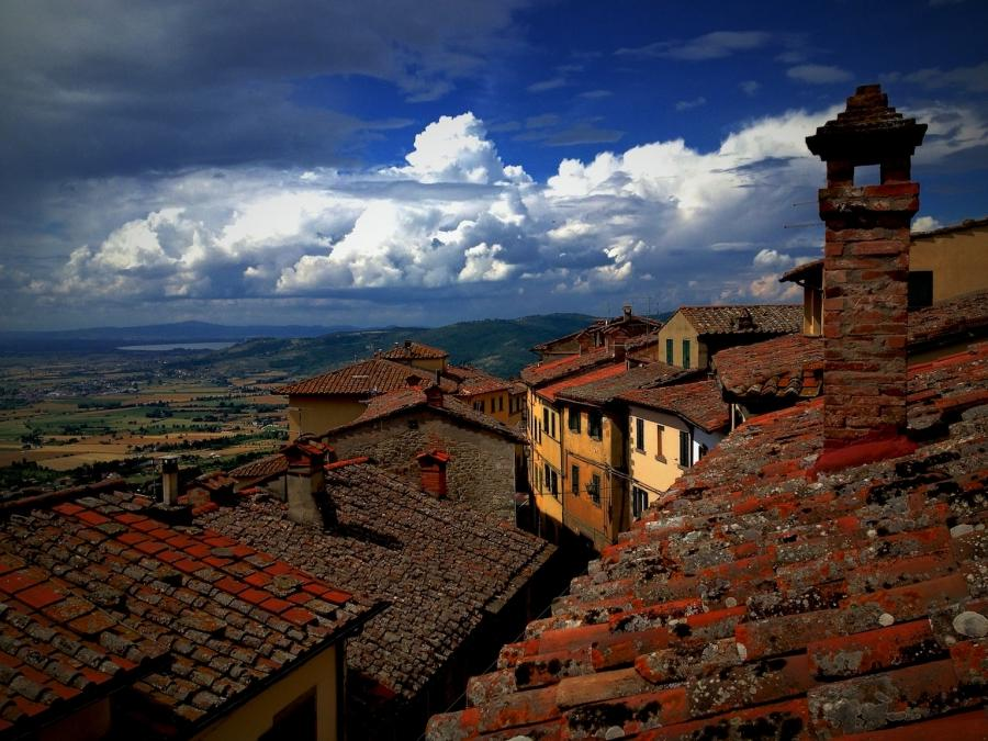 Tuscan Roofs Photos