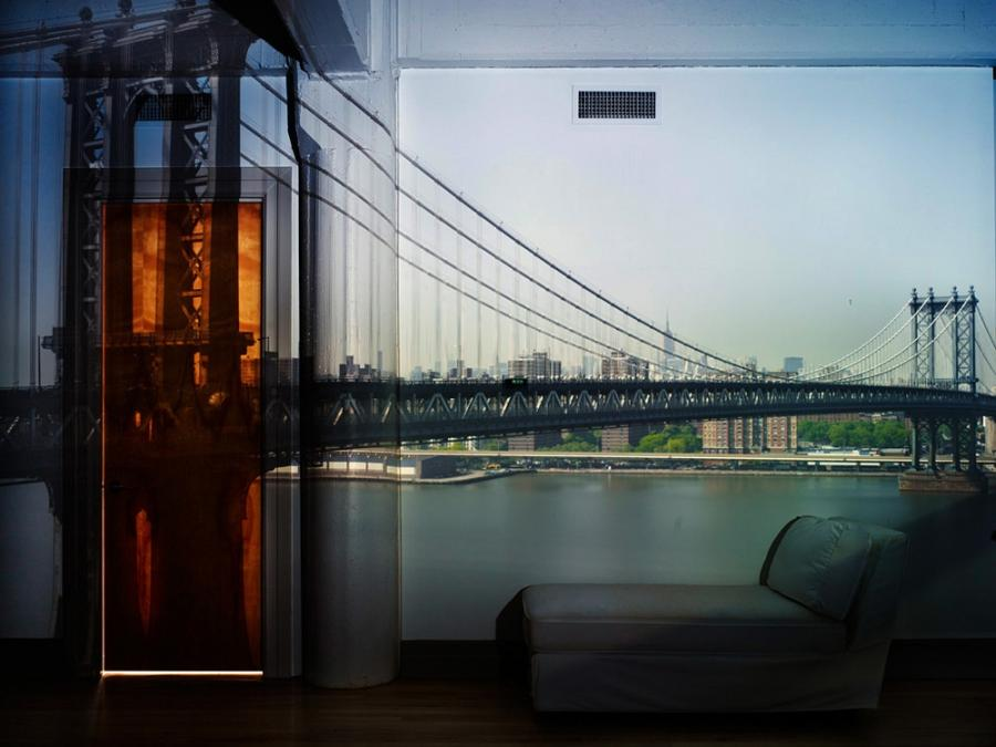 Camera Obscura: View of the Manhattan Bridge-April 30th /...
