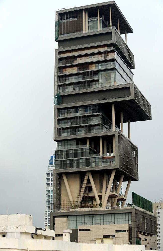 Photos of mukesh ambani 39 s new house for Home source