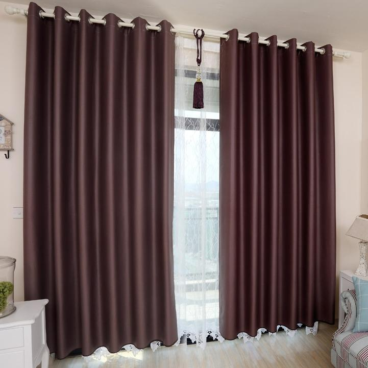 39% Modern Bedroom or Living Room Blackout Curtains (Two Panels)