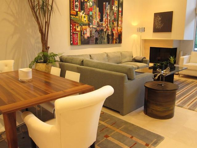 Contemporary/Asian Living Room/Dining Room...
