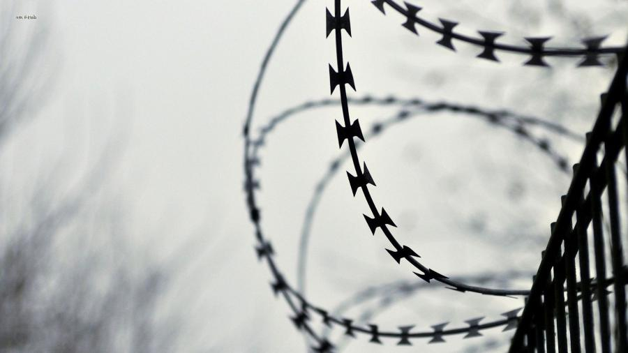 ... Barbed wire fence wallpaper 1920x1080 ...