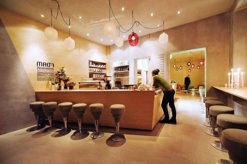 Decorating, Contemporary Coffee Shop Interior Design: Variations...